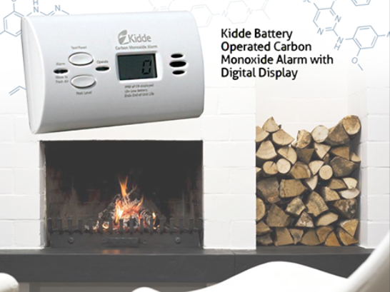 (RO) Kidde Detector Monoxid de Carbon (CO)